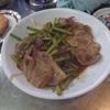 幸運な病のレシピ( 1739 )朝:生姜焼き、目玉焼き、ニシン、鮭、汁の仕立直し、マユのご飯