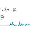ブログ開設以来のページビュー数が500PVを突破!