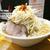 麺や久二郎のがっつり山盛りラーメン@鹿児島市中央町