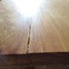 天板の割れをボンド+おが粉で埋めてみた