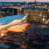 ヘルシンキの中央図書館&黄色ベスト(⑤)デモにはテニスラケットを持って。