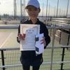 高崎スプリング延期大会!12歳以下女子シングルス準優勝