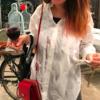 ワインをこぼしても洗いやすいボーイフレンドシャツ