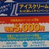アイスを食べて5000円ゲット♪