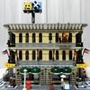 LEGO 10211 デパートをニコイチで並べてみる