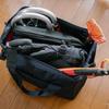無印良品の容量可変バッグ「荷物の量で広げられる 撥水 ボストンバッグ」は何でも突っ込めて旅行が捗る