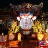夜の龍山寺と広州街夜市