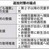 「子ども複数」世帯 支援拡充へ 育休推進・保育所整備も :日本経済新聞
