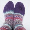 マルティナさんの靴下完成