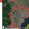 教材で使えるかも?:Googleマップで「東京は街が途切れない」 じゃあ一体どこまで続いてるの?