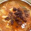 【孔徳】キムチチゲに「揚げ肉」を入れてみる。@마포나룻가/麻浦ナル家
