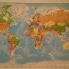 ヨーロッパの世界地図
