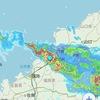 北九州地方にも線状降水帯