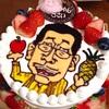 上の子の3歳の誕生日&ピコ太郎デコレーションケーキ。