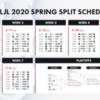 【LJL公式発表】LJL 2020 Spring Split 対戦スケジュール及びチケット販売のお知らせ