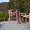 天河神社で  (京都・奈良の旅④)