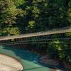 奥大和の秘境、十津川村谷瀬の吊り橋を尋ねて思う事。
