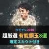 【有能銅玉】厳選8選手レベマ能力紹介と確定スカウト