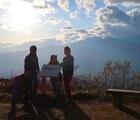 陣馬形山登山!陣馬形山荘とライブカメラ・展望台からのアルプスの眺め