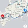 ケータイ国盗り合戦冬キャンの旅~西日本完全攻略