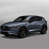 米国の販売店にCX-5「Carbon Edition」の実車が到着、専用フロントグリルもチェック可能。