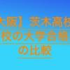【高校受験2020】茨木高校の併願校の大学合格実績を比較