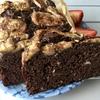 *≪保存版»  砂糖不使用、どっしり濃厚、甘いスパイスの効いた、バナナピーカンナッツカカオケーキ