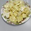 研究室で一番楽しい行事は食事会!本日のメニューはすきやきとポテトサラダだ