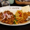 HI, HOW ARE YOU (ハイハウアーユー)でレバーパキスタンと豆(レッド)カレーのハーフ&ハーフ@日吉