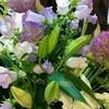カウンターの花(2)