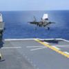 護衛艦「いずも」でF35Bによる発着艦試験成功 護衛艦いずもペーパークラフト