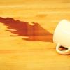 ノートパソコンに水・お茶・コーヒーをこぼした!今すぐ電源を切りましょう!