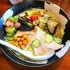 拉麺しな竹@大曲 冷たいグリーンカレーのラーメン