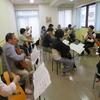 アンサンブルグループ エスペランサの練習 続き