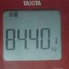 ダイエット日記 7日目 (開始から-1.75キロ)
