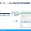 Garoon のスケジュールから取引先別Excel 訪問頻度一覧表を作る:CData Excel Add-In for Garoon