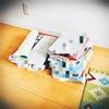 学年末の紙物整理。