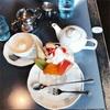 長岡のRORO(ロロ)さんへ。はじめてのウインナー紅茶とパフェにきゅん。