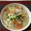 豚足のスープで長崎チャンポン