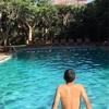 スリランカ個人旅行㉕アラカルトディナー&早朝貸切プール