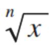 nroot(x,n) - xのn乗根
