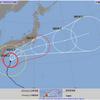 台風14号に対する本日、明日のレッスンについて