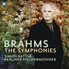 ブラームス:交響曲第1番 / ラトル, ベルリン・フィルハーモニー管弦楽団 (2008/2014 44.1/24)