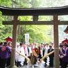 30日(日)に富士吉田で富士山開山前夜祭が行われます