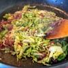 レシピ: キャベツコンビーフ炒め