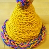 指編みの帽子