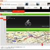 (自転車)auケータイで走行記録