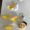 つまみ細工  ラナンキュラスを作るために玉バラの練習
