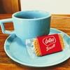 美容院のコーヒーにロータス・ビスコフがついてくると嬉しい【ビスケット】