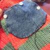毛糸の手編みくつ下の穴を直すパート3